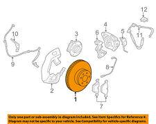 BMW OEM 09-15 750Li Front Brake-Disc Rotor 34116785675