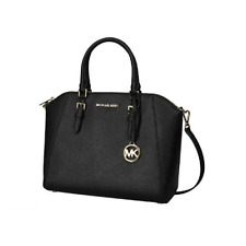 Michael Kors 35H5GC6S3L-001 Large Ciara Saffiano Leather Women's Bag - Black