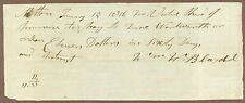 Milton, Massachusetts, Promissory Note, January 15, 1816