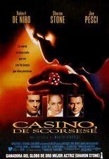 Casino (1995) Robert De Niro mafia movie poster print 2