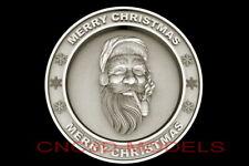 3d Model Stl For Cnc Router Artcam Aspire Merry Christmas Santa Claus D694