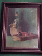 VINTAGE STILL LIFE PAINTING  EX NORTHWOOD UNIVERSITY COLLECTION OF ART