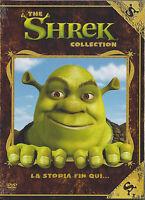 Dvd Box Cofanetto COLLECTION **THE SHREK 1 + THE SHREK 2** nuovo slipcase