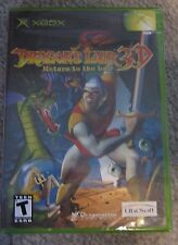 Dragon's Lair 3D Rturn to the lair XBOX NEW factory sealed original version