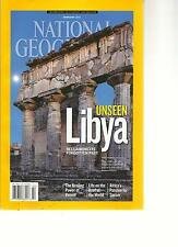 NATIONAL GEOGRAPHIC, FEBRUARY, 2013(UNSEEN LIBYA ) RECLAIMING ITS FORGOTTEN PAST
