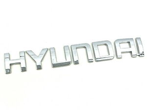 Genuine New HYUNDAI REAR BADGE Boot Emblem For Elantra Touring 2009-2012 GLS SE