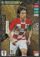 PANINI ADRENALYN XL ROAD TO EURO 2020 LUKA MODRIC TOP MASTER RARE CARD NO 3 MINT
