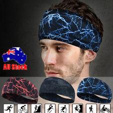 3PCS Wide Sports Yoga Gym Stretch Cotton Headband Head Hair Band Girls Women Men