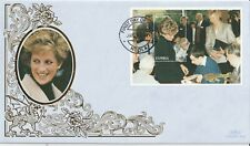 ZAMBIA 12 JANUARY 1998 PRINCESS DIANA IN MEMORIAM SS BENHAM LE FIRST DAY COVER