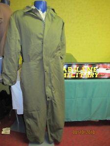 USGI Military Mechanics Coveralls OD Cold Weather Insulated Nice Sm Med Lg