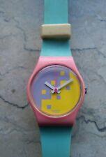 "orologio swatch STANDARD LADIESmodello""BLUE CASSATA""LP103anno1987DUMMY RARISSIMO"