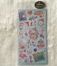Alice in Wonderland Shinny Stickers Rabbit Scrapbook diary Cardmaking Phone DIY