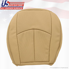 2008 2009 Mercedes-Benz E350 Driver Bottom Seat Cover Perforated Leather Tan