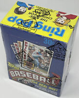 1984 TOPPS BASEBALL WAX PACK BOX BBCE AUTHENTICATED & SEALED CLEAN BOX