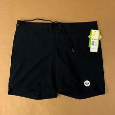 "Roxy Womens To Dye 7"" Board Shorts Size Medium Black ERJBS03039"