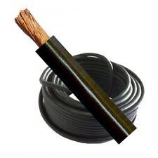 Welding Cable Battery Earth 230 Amp 25Mm Black Flexible Per Meter Mig Arc Welder