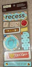 RECESS Fun Friends Play Outside School Favorite Time Break Recollections Sticker