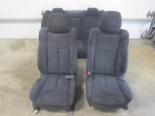 09-14 NISSAN MAXIMA Set Black Leather Seats Front Rear Driver Passenger