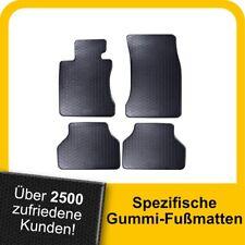 Gummimatten Gummi Fußmatten für BMW Serie 5 V E60 2003-2010 Original Qualität