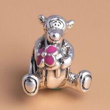 73b0eb452 Tigger European Charm With Pink Gift Pouch - Silver S925 - Winnie Disney