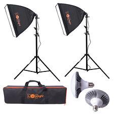 Pro LED Softbox Lighting Kit   Luxlight ®   Photo Video Studio Continuous Set