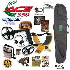 Garrett Ace 350 Metal Detector Adventure Package with Headphones Plus More !
