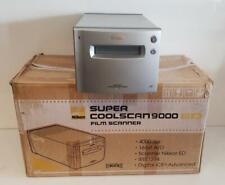 Nikon Super Coolscan 9000 ED Multi Format Film Photo Slide Scanner 35mm and 120
