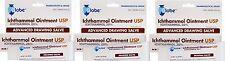 Ichthammol Ointment USP 20% Pharmaceutical Grade Salve 1oz ( 3 pack )
