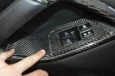 PH~ 2Pcs Window Switch Control Panel (RHD) For NISSAN R35 GTR GT-R  Carbon Fiber