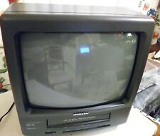 ORION NO.TVCR1321A CRT TV/VCR/GAMING Television Combo NO REMOTE(vcr doesn't work