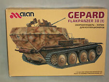 Alan 1/35 Scale German Gepard Flakpanzer 38(t)
