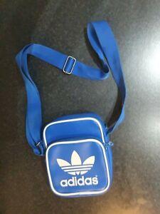 Adidas Blue retro Shoulder Bag