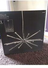 Next Apollo Led Sputnik Fitting Light Ceiling Lighting Pendant Chandelier New