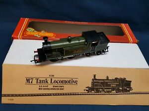 HORNBY R103 S.R OLIVE GREEN 0-4-4T CLASS M7 LOCO 249 EXCELLENT BOXED