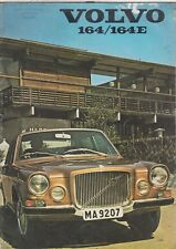 VOLVO 164 & 164E SALOON ORIGINAL 1971 FACTORY UK SALES BROCHURE