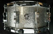 "Ludwig 14x6,5"" Snare Drum USA Maple Oak keystome x Titanium GLITTER USA rullante"