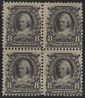 US Stamps - Scott # 306 - Mint OG Block of 4 - 2 MNH & 2 MH              (B-078)