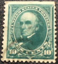 Scott #226 U.S. 1890 Daniel Webster 10 Cent Postage Stamp - Mint CV $40