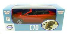 Volvo C70 Convertible Pull Back Car in Red 1:32 Scale