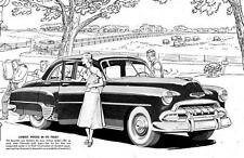 Old Print. 1952 Chevrolet - LOWEST PRICE IN ITS FIELD! - Auto Ad