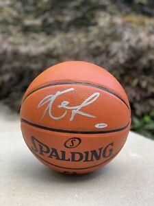 KEVIN LOVE Hand Signed Spalding Basketball UDA Upper Deck Autographed
