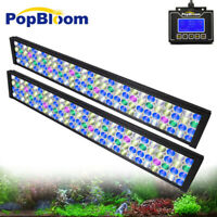 PopBloom Aquarium Led Light Full Spectrum For Freshwater Fish Plant Tank Light