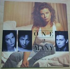 """ONE 2 MANY ANOTHER MAN 7"""" P/S 1988 UK"""