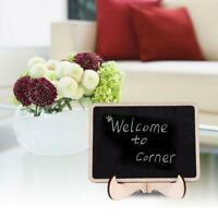 Mini Holz Nachricht Tafel stehen kleine Message Board D9M0 Hochzeit Home-Of K1G5