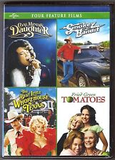 4 DVD Coal Miners Daughter Smokey Bandit The Best Little Whorehouse BRAND NEW