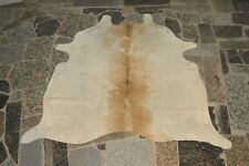 "NEW Cowhide Rug HAIR ON SKIN  Leather cowhide  783-  80"" x 74"""