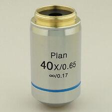 40X INFINITY PLAN ACHROMATIC MICROSCOPE OBJECTIVE INFINITE LENS BRAND NEW