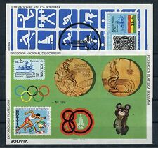 Bolivien Block 100/01 postfrisch / Olympiade ..............................1/730