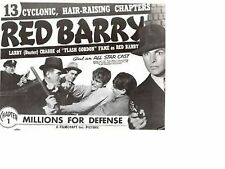 Red Barry - Classic Cliffhanger Serial Movie DVD Buster Crabbe