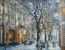 Needlework Embroidery DMC Color - Counted Cross Stitch Kits - The Winter City